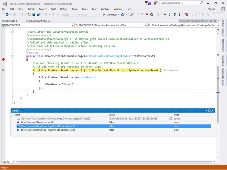 ASP NET MVC 5 Authentication Filters using example - LearnMVC
